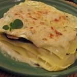 Lasagne col pesce spada e melanzane