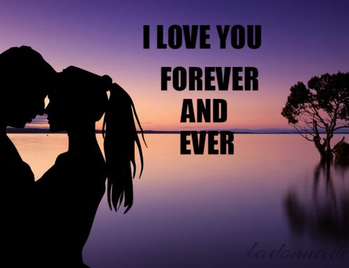 I love you, with…