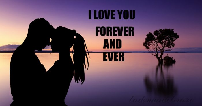 I love you, with...