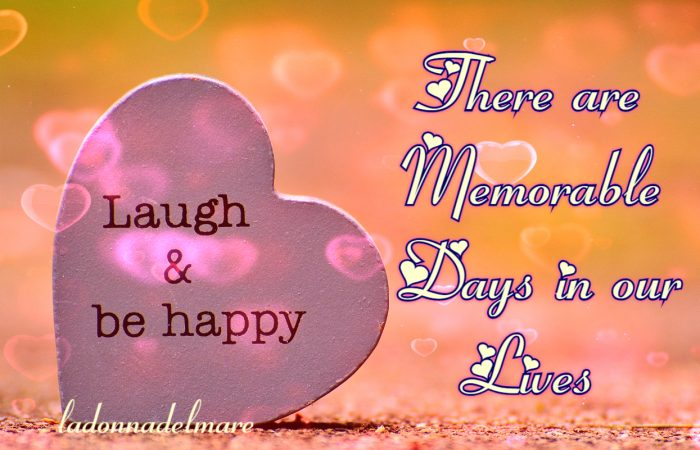 There are memorable days