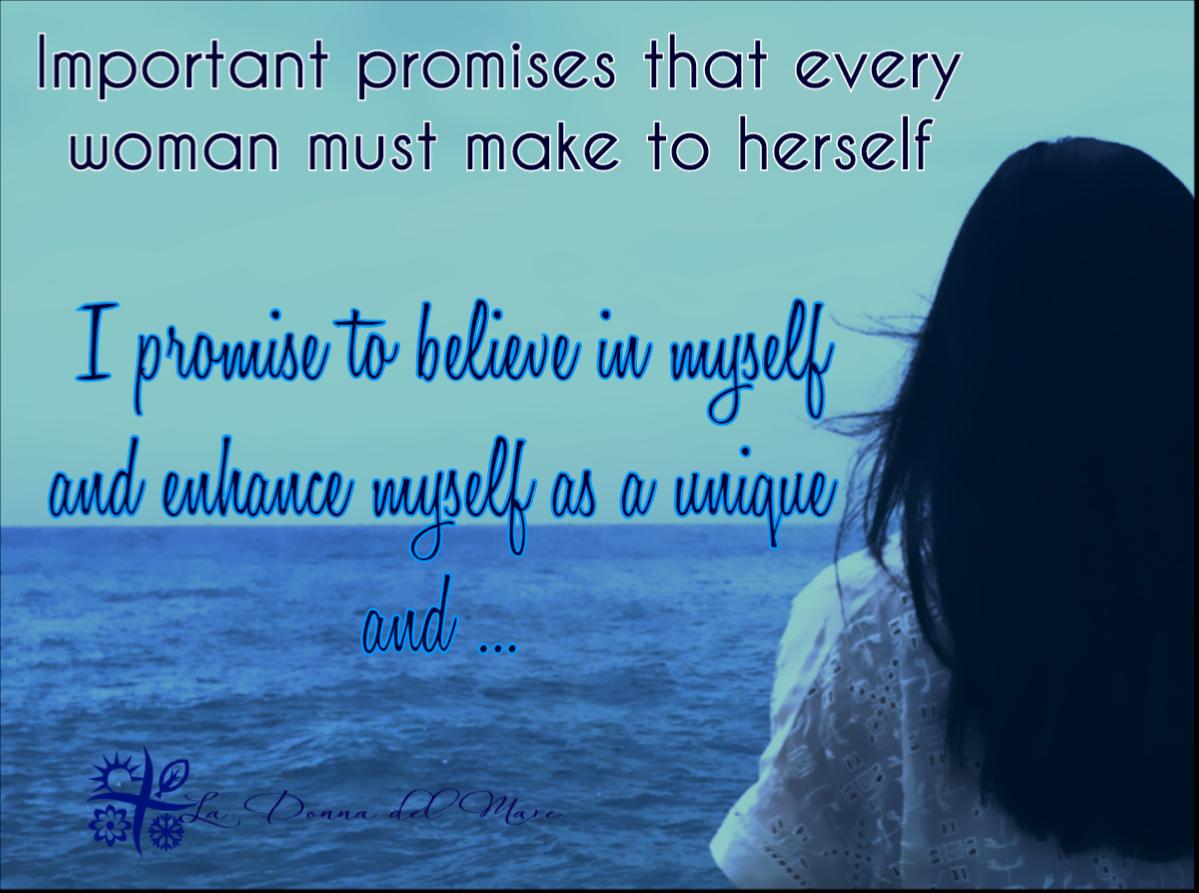 important promises