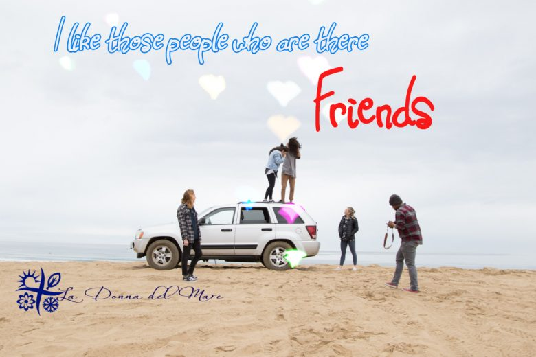 I like those people who are there